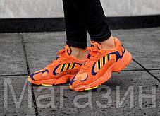 Женские кроссовки adidas Yung 1 Orange Адидас оранжевые, фото 2