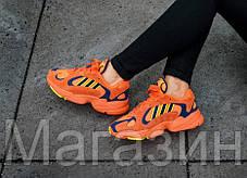 Женские кроссовки adidas Yung 1 Orange Адидас оранжевые, фото 3