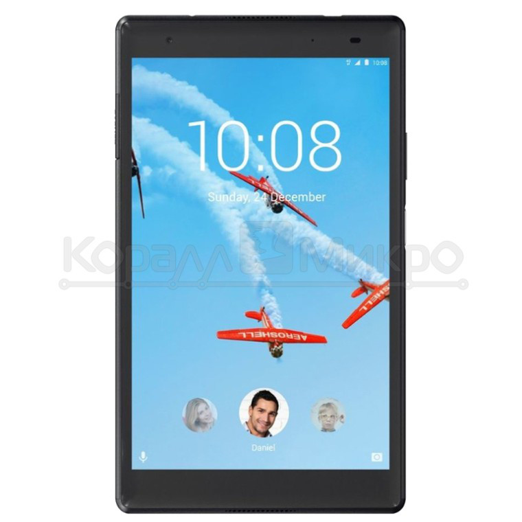 "Планшет Lenovo Tab4 Plus TB-8704X LTE 8"" IPS 1920x1200/QS625/3G/16GB/BT/WF/GPS/Cam 5.0MP+8.0MP/And 7.0/Black (ZA2F0087RU)."
