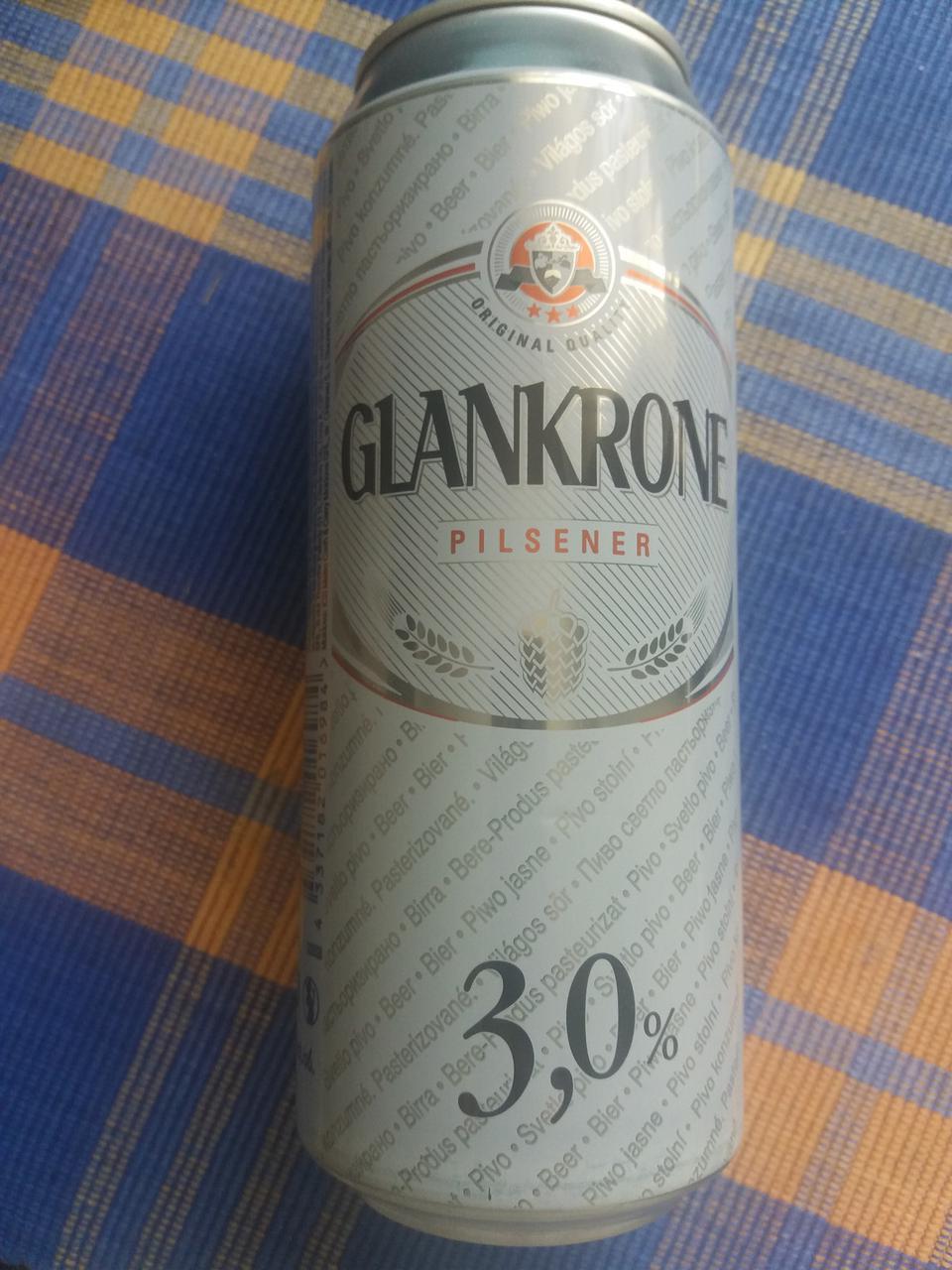 Пиво Pilsner Glankrone 3% (0.5 l ) - Оригинал