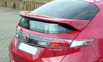 Спойлер на заднее стекло тюнинг Honda Civic