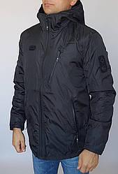Куртка мужская чёрного цвета на осень