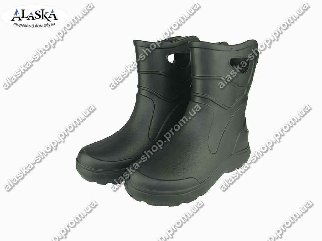 Сапоги мужские (Код: EVA-06 пустые черные )