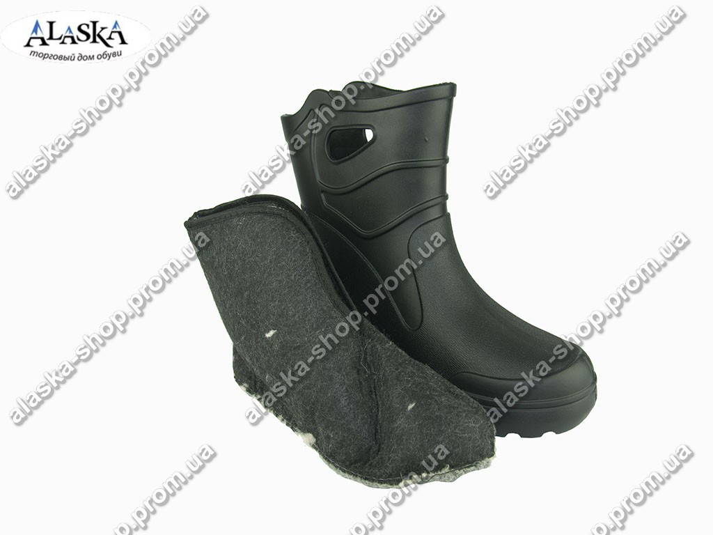 Сапоги мужские (Код: EVA-06 обшив черный )