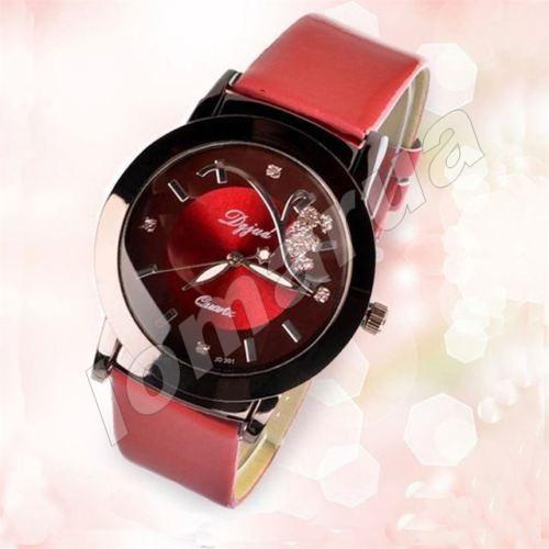 Женские кварцевые часы Dgjud Red