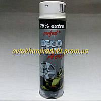 PERFECT Автоэмаль для колесных дисков Deco Lack Acryl белая глянцевая акриловая 500*мл