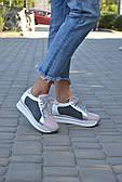 Кроссовки на платформе Royal Shoes 253 Розово-белые
