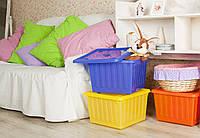 Емкость для хранения вещей с крышкой, фото 1