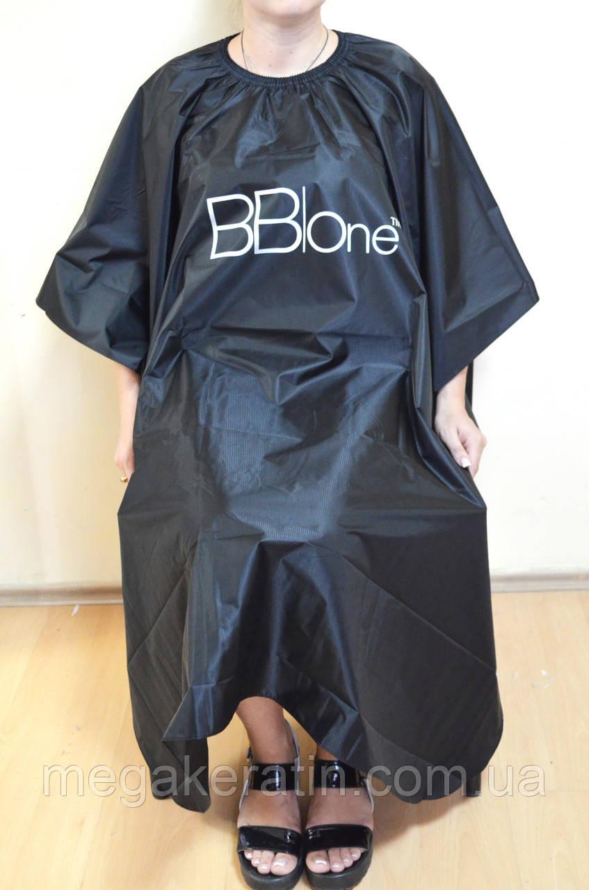 Пеньюар черный BBOne прорезиненный