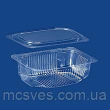 Упаковка для салатів і напівфабрикатів ПС-171 (350 мл) комплект