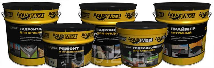 Мастика aquamast холодная строительная битумная мастика