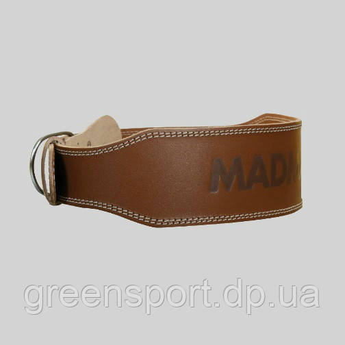 Пояс «Full Leather Chocolate Brown» MFB-246-XL