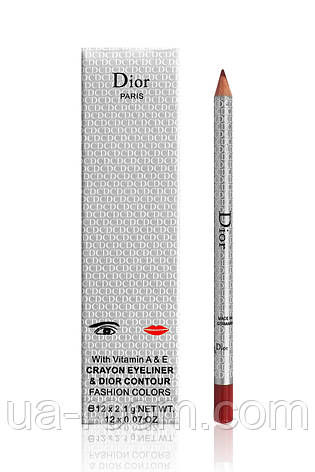 Карандаш для глаз и губ Christian Dior 12 оттенков, фото 2