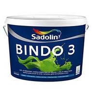 Латексная краска для внутренних работ Sadolin Bindo 3