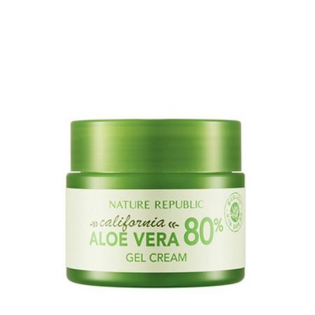 Nature Republic Увлажняющий Гель-Крем с Алоэ California Aloe Vera 80% Gel Cream 50ml