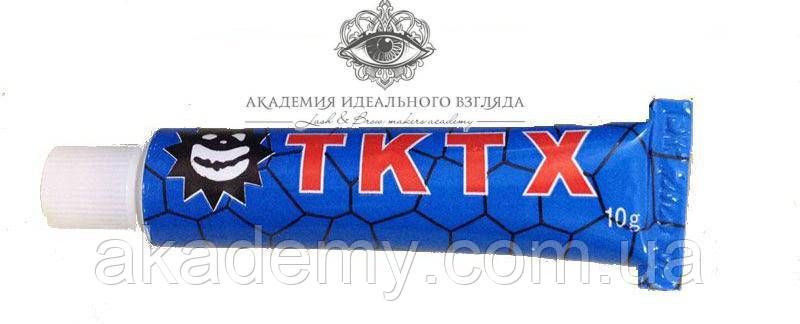 Крем анестетик TKTX blue 39%, 10 г