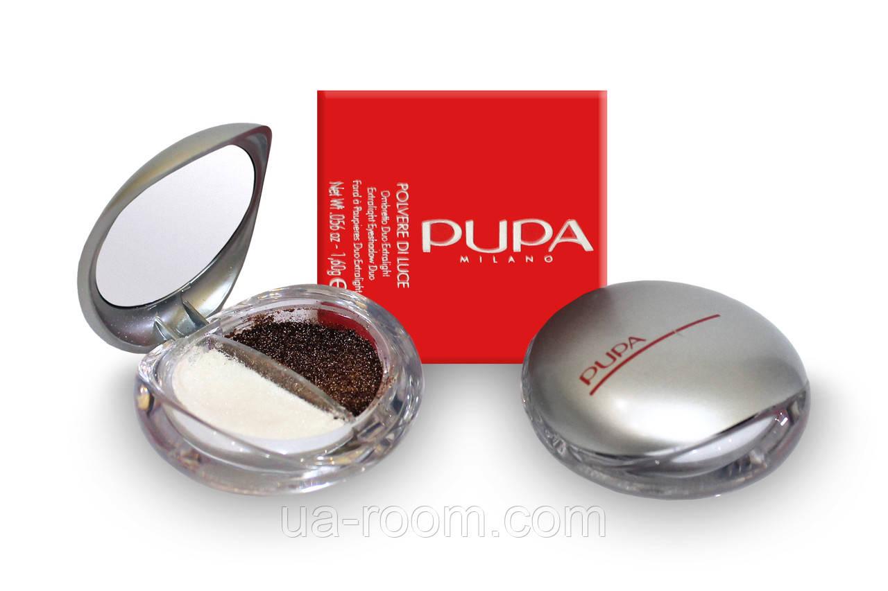 Тени для век Pupa Milano duo eyeshadow E250