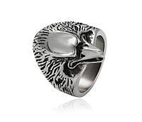 Кольцо орел с клювом из нержавеющей стали