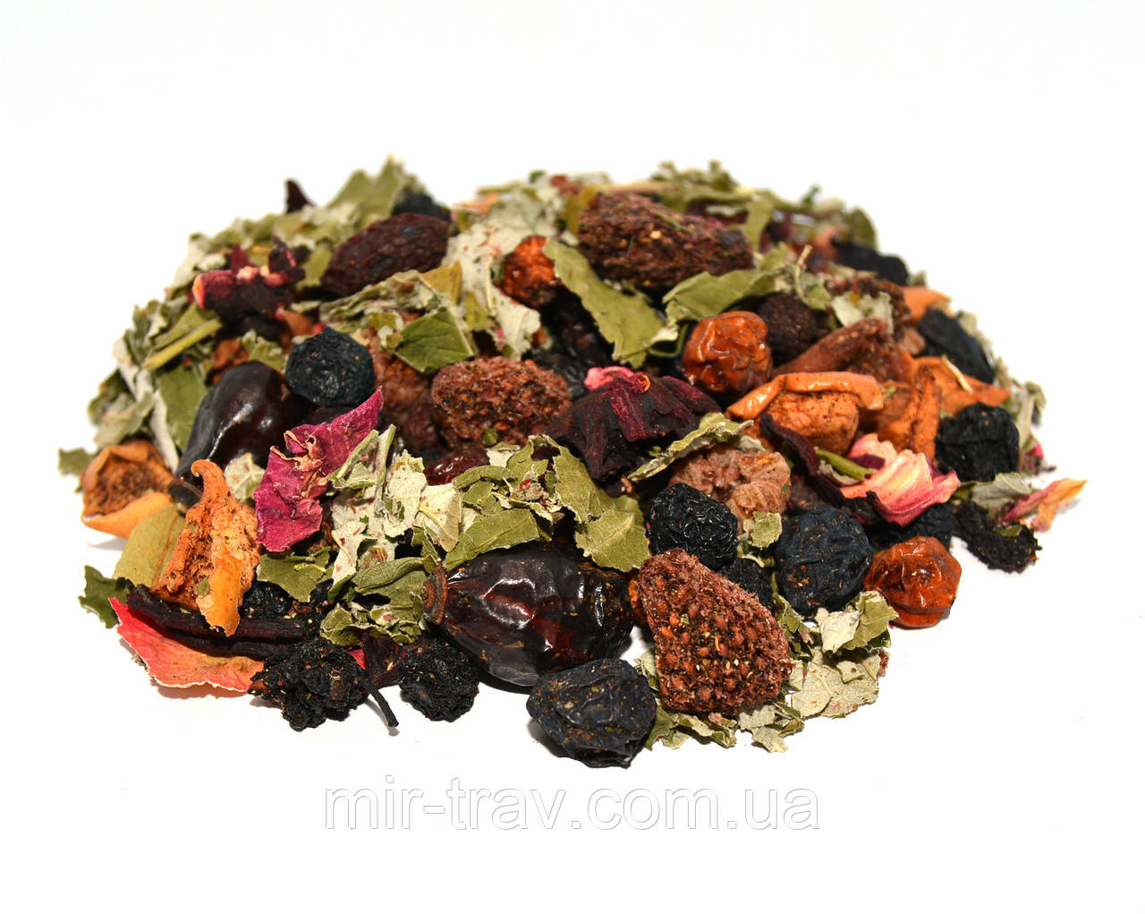 Фруктовый чай малина (фруктовый витаминный травяной сбор)