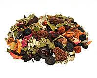 Фруктовый чай малина 100 грамм (фруктовый витаминный травяной сбор)