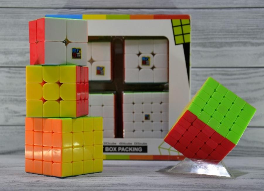 Набор кубик рубиков MoYu Gift Pack 2x2 3x3 4x4 5x5