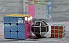 Набор кубик - рубика 3 в 1 большой и маленький кубик + логическая змей, фото 3