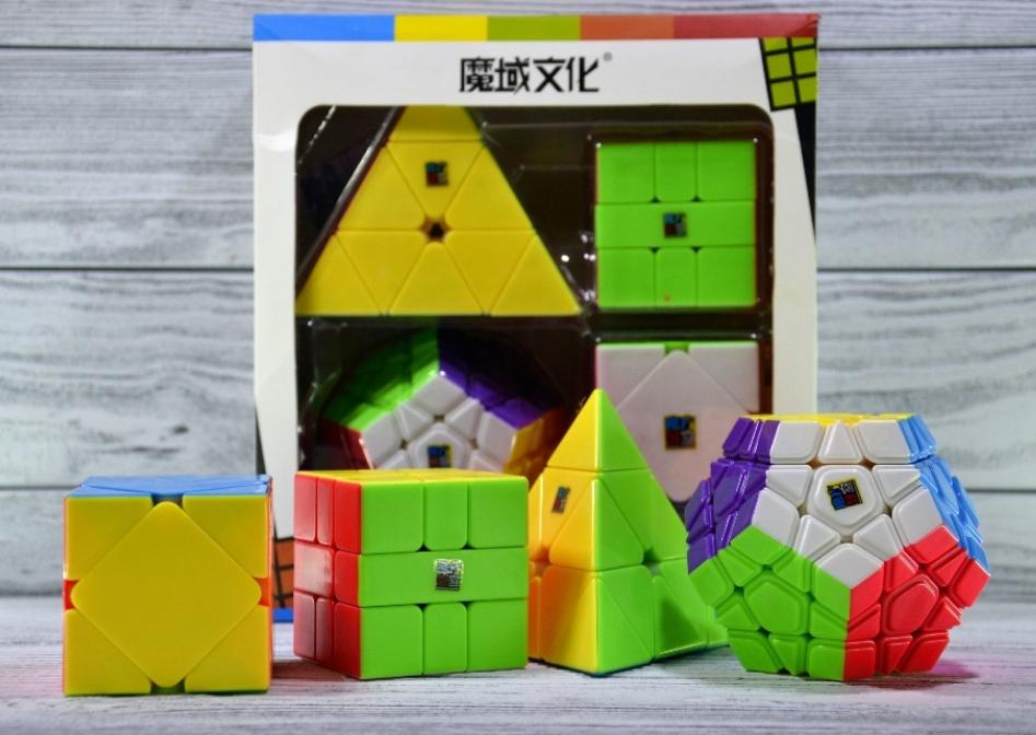 Набор Кубик рубиков MoYu (Мегаминкс) (Пирамидка) (Скьюб) (Скваер-1)