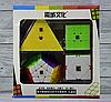 Набор Кубик рубиков MoYu (Мегаминкс) (Пирамидка) (Скьюб) (Скваер-1), фото 2