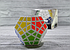 Кубик рубика Megaminx в черном и белом цвете, фото 5