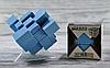 Кубик Рубика зеркальный 3х3 цвет синий, фото 3