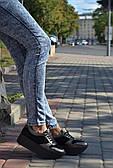 Кроссовки на платформе Royal Shoes 267 Бронза-черный