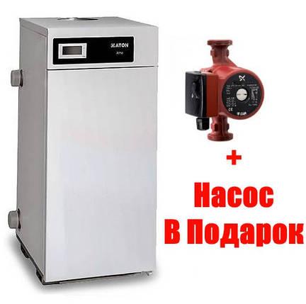 Котел газовый Двухконтурный Атон ATON Atmo-16 EВ Дымоходный, SIT 630 Италия, фото 2