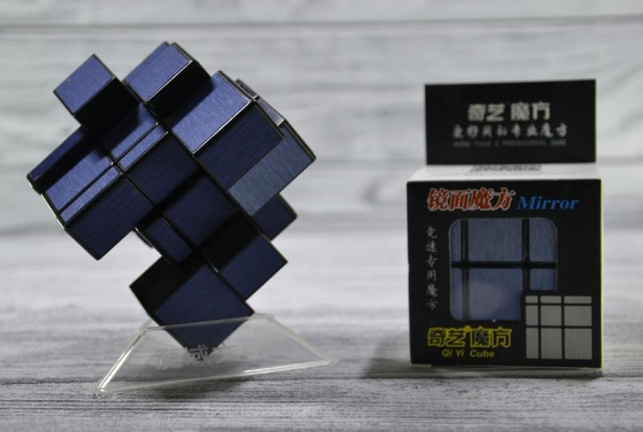 Кубик Рубика зеркальный 3х3 Qiyi-Mofange Mirror (темно синий)