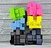 Кубик Рубика зеркальный 3х3 Qiyi-Mofange Mirror (темно синий), фото 6