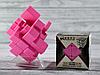Кубик Рубика зеркальный 3х3 розовый, фото 2