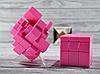 Кубик Рубика зеркальный 3х3 розовый, фото 3