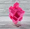Кубик Рубика зеркальный 3х3 розовый, фото 6