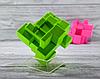 Кубик Рубика зеркальный 3х3 Qiyi-Mofange Mirror Green, фото 3
