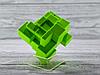 Кубик Рубика зеркальный 3х3 Qiyi-Mofange Mirror Green, фото 4