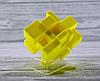 Кубик Рубика зеркальный 3х3 Qiyi-Mofange Mirror Yellow, фото 4