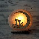 Соляной светильник круглый, фото 4