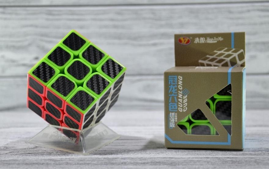 Кубик Рубика 3х3 Carbon