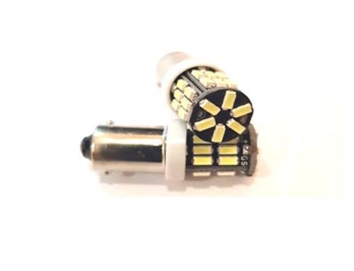 Светодиодная led лампочка 24В T4W-3014-30 SMD (7208), фото 2
