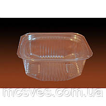 Упаковка для салатів і напівфабрикатів ПС-170 (500 мл) комплект