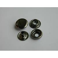 Кнопка №61 - 15 мм  блэк никель