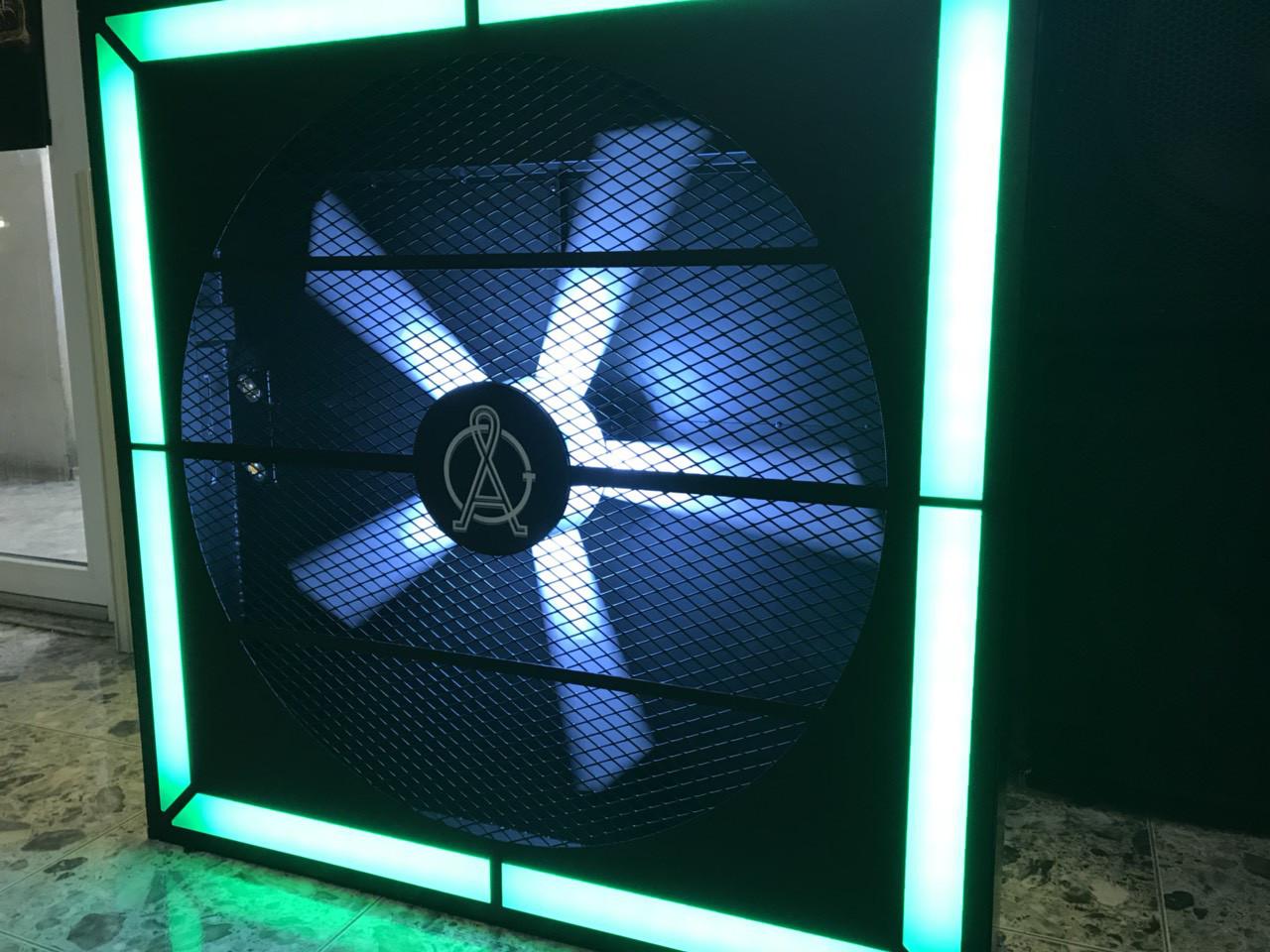 Аренда Вентилятора с подсветкой различными цветами