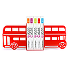 Упоры для книг Glozis Bus G-005 30 х 20 см