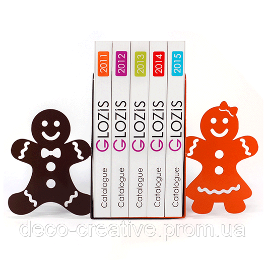 Упоры для книг Glozis Gingerbread G-021 30 х 20 см