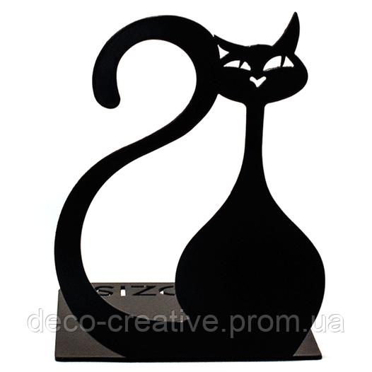 Упор для книг Glozis Black Cat G-024 15 х 10 см