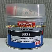 NOVOL Шпатлевка Fiber со стекловолокном белая 0,2кг